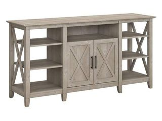 Bush Furniture Key West Tall TV Stand for 70 Inch TV