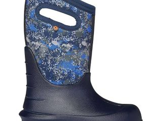 Toddler Boy s Bogs Neo Classic Insulated Waterproof Boot  Size 12 M   Blue