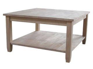 Solano Square Coffee Table   International Concepts