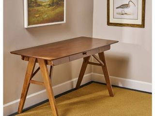 Christopher Knight Home Vienna Modern Faux Wood Desk with Veneer Waknut