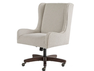 Madison Park Klaus Cream Office Chair