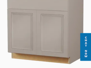 Diamond Now Gray Vanity 36 inch sink base cabinet