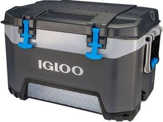Igloo 52 Quart Bmx lunch Beverage Ice Cooler Gray 00049783