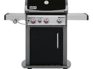 Weber Spirit 3 Burner lP Gas Grill   Black   Model 4 6810001E7