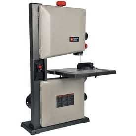 PORTER CABlE 9 in 2 5 Amp Stationary Band Saw   Powers On