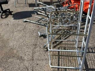 Miscellaneous chairs and metal scrap