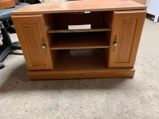 Entertainment TV stand cabinet
