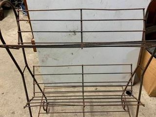 Rod iron stand
