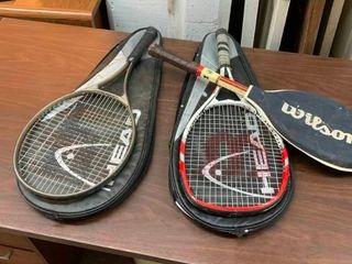Racket ball rackets