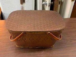 Vintage picinic basket