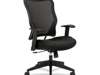 Wave Mesh High Back Office Chair Black   HON