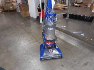 Hoover UH71250 WindTunnel 2 Whole House Rewind Corded Bagless Upright Vacuum Cleaner with HEPA Media Filtration  Blue