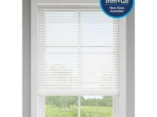 levolor 2 in White Faux Wood Blinds Precut To 66 X 64 In