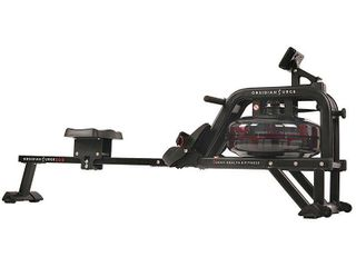 Sunny Health   Fitness Obsidian Surge Water Rowing Machine SF RW5713