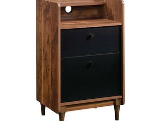2 Drawer Harvey Park Stand with File Grand Walnut   Sauder
