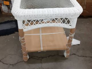 Outdoor Patio Small End Table