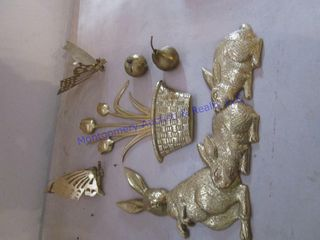 BRASS WAll DECORATIONS