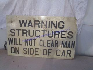 RAIlROAD SIGN