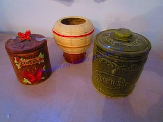 COOKIE JARS CANISTER