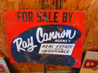 RAY CANNON AGENCY SIGN