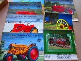 FARM TRACTOR BOOK   CAlENDARS