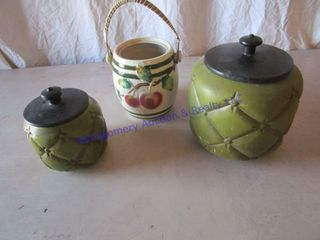 HAEGER COOKIE JARS