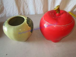 APPlE COOKIE JARS