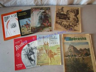 OlD RODEO PROGRAMS