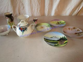 DECORATIVE CHINA DISHES