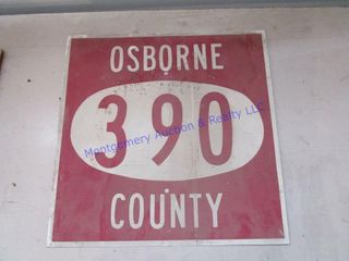 SIGN  OSBORNE CO