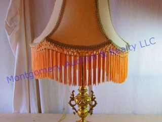 FANCY lAMP WITH SHADE