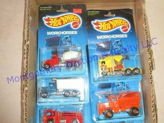 1986 HOT WHEElS WORK HORSES