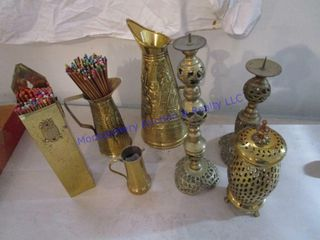 BRASS   BRASS COlORED ITEMS
