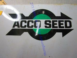ACCO SEED SIGN
