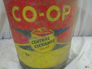 COOP FUEl CAN