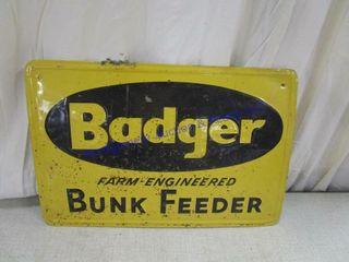 BADGER SIGN