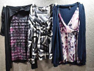 lot of 3 Womens Clothes   Apt 9 Women s Shirt Size S  I N  Studios Women s Shirt Size S  Worthington Women s Shirt Size S