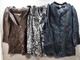 lot of 3 Womens Clothes   Sonoma Women s Shirt Size S  Bellissimo Women s Shirt Size S  Sonoma Women s Shirt Size S