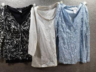 lot of 3 Womens Clothes   Croft   Barrow Women s Shirt Size S  Bay Studio Women s Shirt Size S  Covington Women s Shirt Size S