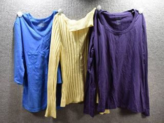 lot of 3 Womens Clothes   Sonoma Women s Shirt Size S  Westbound Women s Shirt Size S  Hampshire Women s Sweater Size S