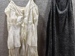 lot of 2 Womens Clothes   OP Women s Shirt Size l  Ahoy Women s Shirt Size l