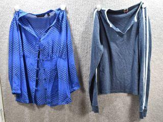 lot of 2 Womens Clothes   Tilt Women s Shirt Size l  Investments Women s Shirt Size 12
