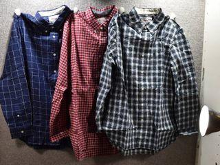 lot of 3 New w  Tags Mens Clothes   Stafford Dress Shirt Size M  Stafford Dress Shirt Size M  Stafford Dress Shirt Size M