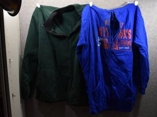 lot of 2 Big   Tall Mens Clothes   Section 101 Hooded Sweatshirt Size 3X  Izod Pull Over Jacket Size 3X