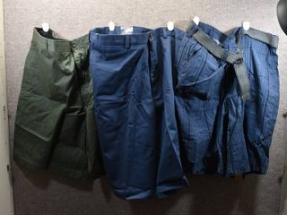 lot of 3 New w  Tags Big   Tall Mens Clothes   Roundtree   Yorke Mens Shorts Size 44 Tall  Claiborne Shorts Size 44  Foundry Shorts Size 44