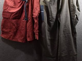 lot of 2 New w  Tags Big   Tall Mens Clothes   Casuals Mens Shorts Size 44x29  Foundry Shorts Size 44