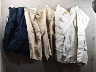lot of 3 New w  Tags Big   Tall Mens Clothes   Roundtree   Yorke Mens Shorts Size 46  Foundry Shorts Size 46  Roundtree   Yorke Shorts Size 46