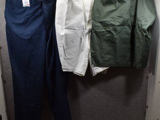 lot of 3 New w  Tags Big   Tall Mens Clothes   Roundtree   Yorke Slacks Size 48x32  Claiborne Shorts Size 48  Claiborne Shorts Size 48