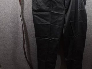 lot of 2 New w  Tags Big   Tall Mens Clothes   Roundtree   Yorke Slacks Size 50x30  Roundtree   Yorke Belt Size 50