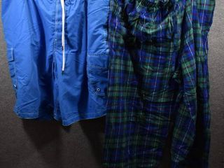 lot of 2 New w  Tags Big   Tall Mens Clothes   Foundry Mens Swim Trunks Size 3X  Roundtree   Yorke lounge Pants Size 3X